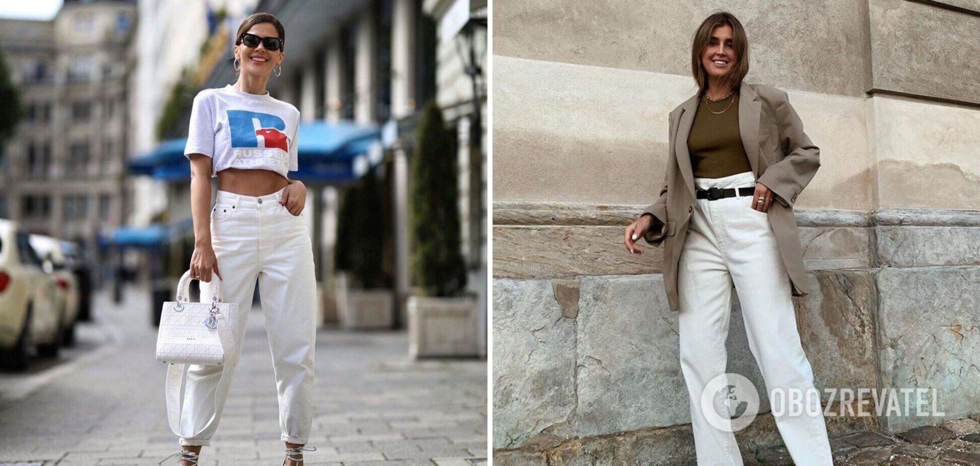 Білі джинси – хіт літа 2021