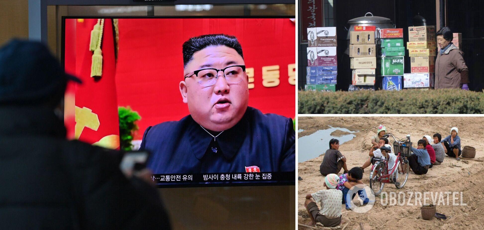 Кім Чен Ин – загроза голоду в КНДР