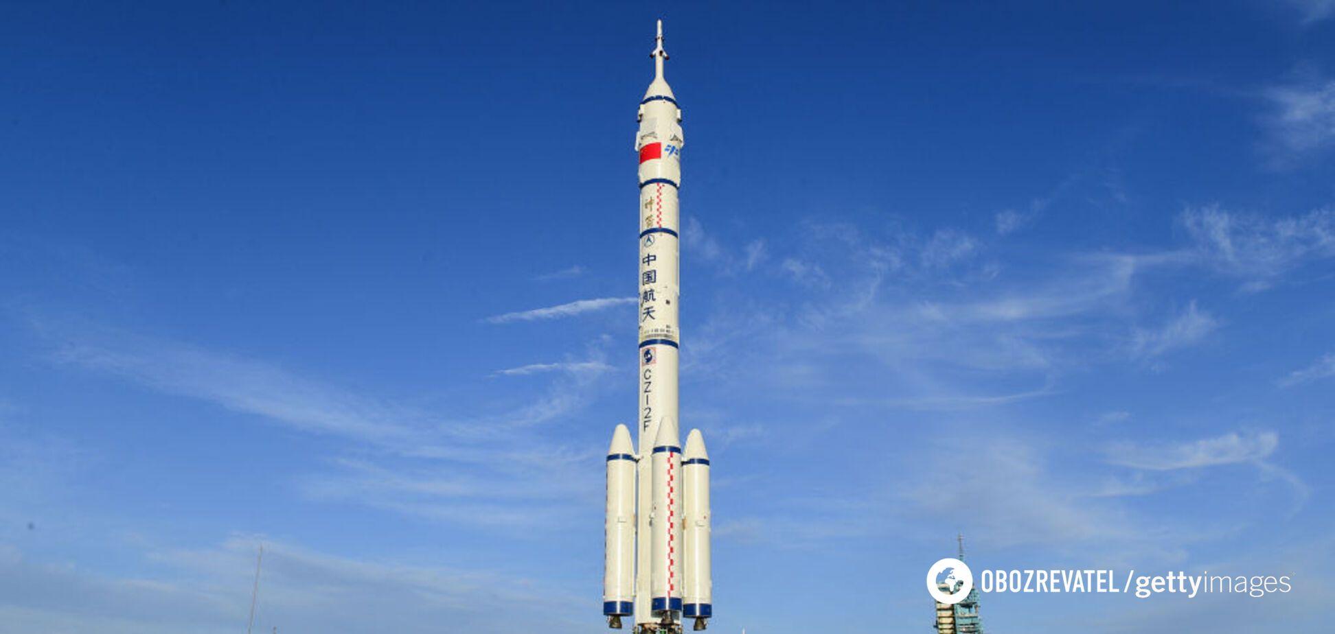 Ракета полетела на станцию КНР