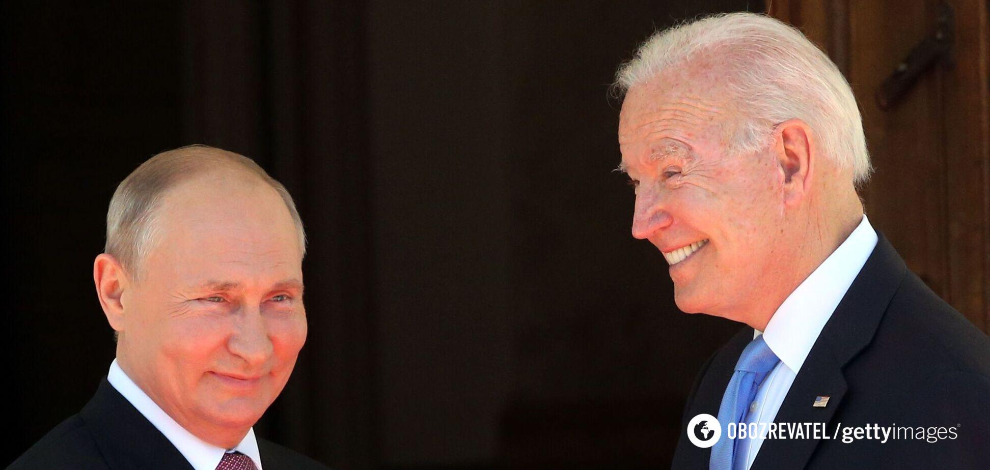 Путин заявил, что образ Байдена в СМИ не имеет ничего общего с действительным