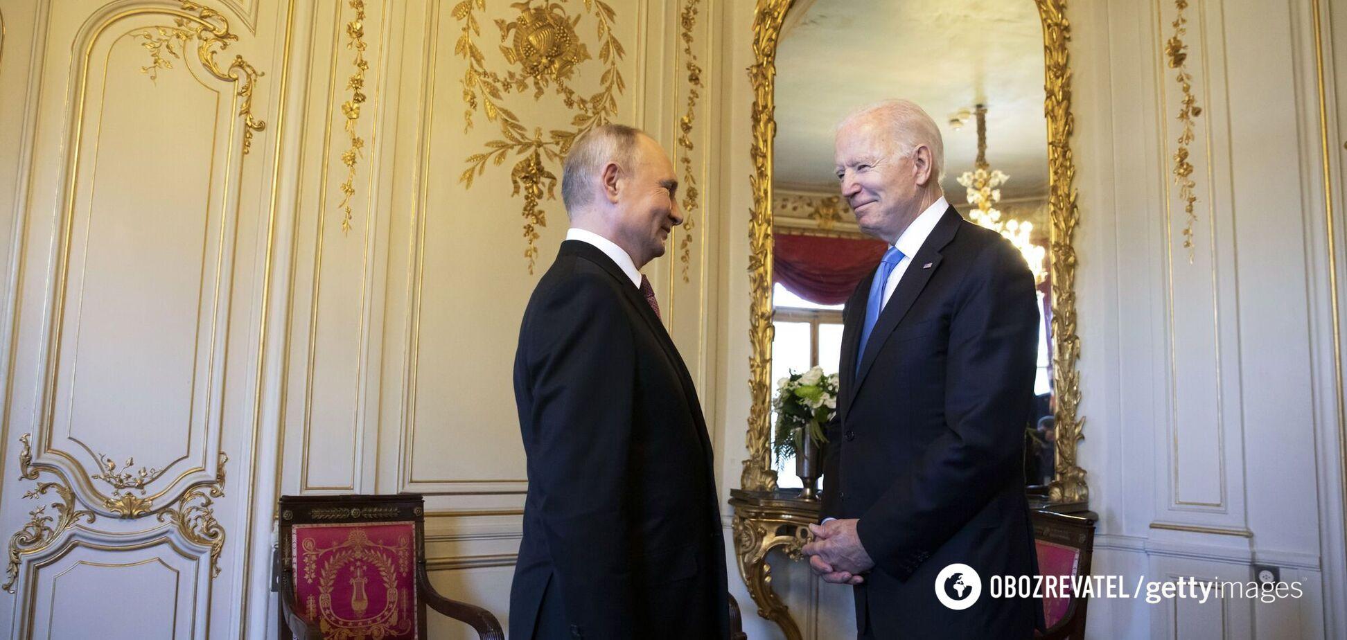 Встреча Байдена с Путиным