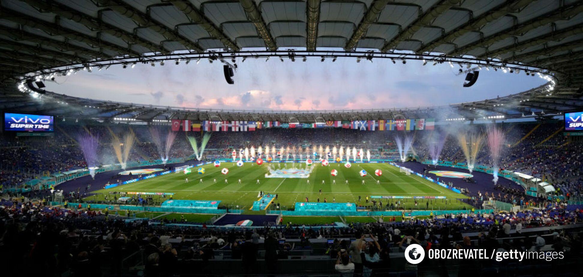 На 'Стадіо Олімпіко' був зіграний перший матч Євро-2020