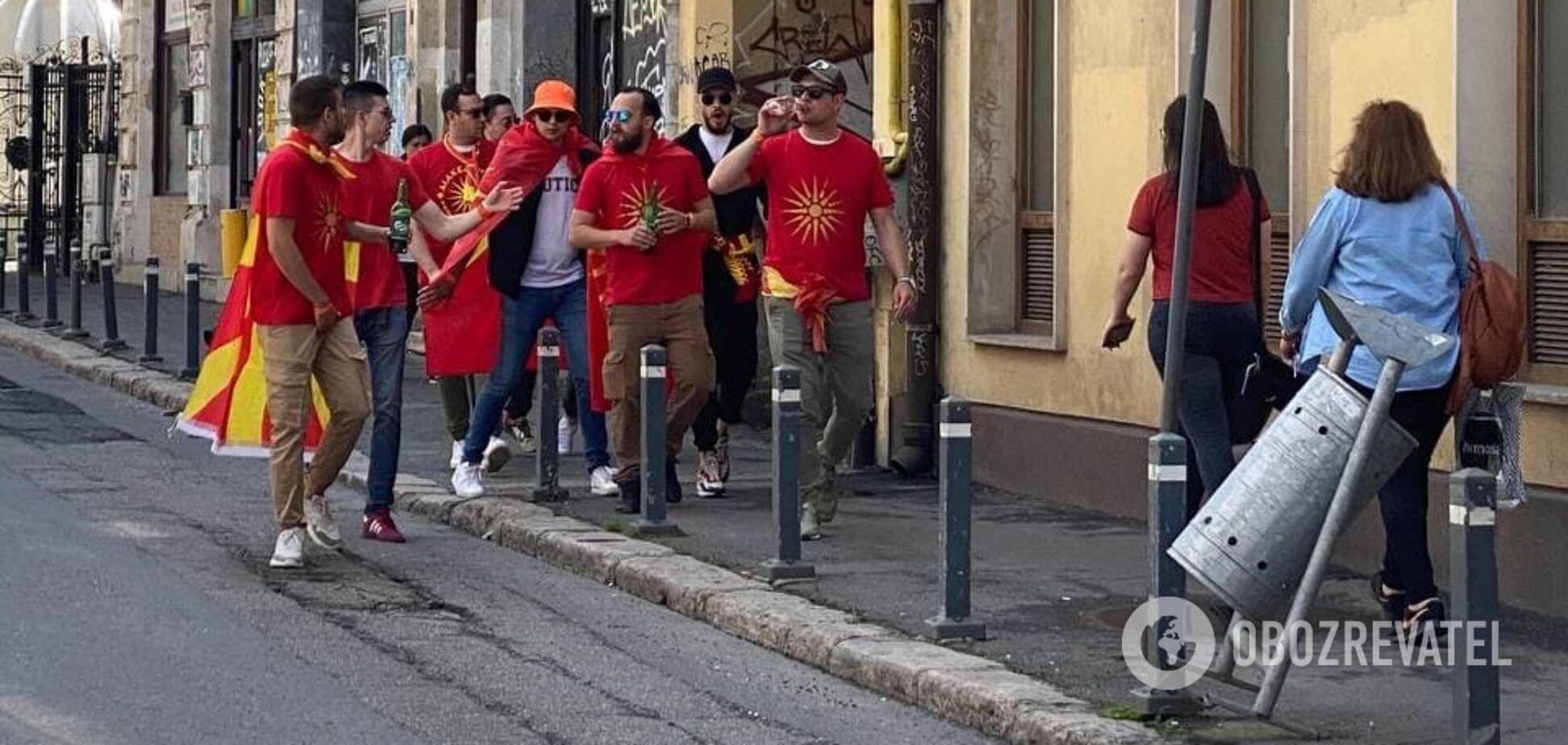 Євро-2020: македонські фанати перед матчем з Україною