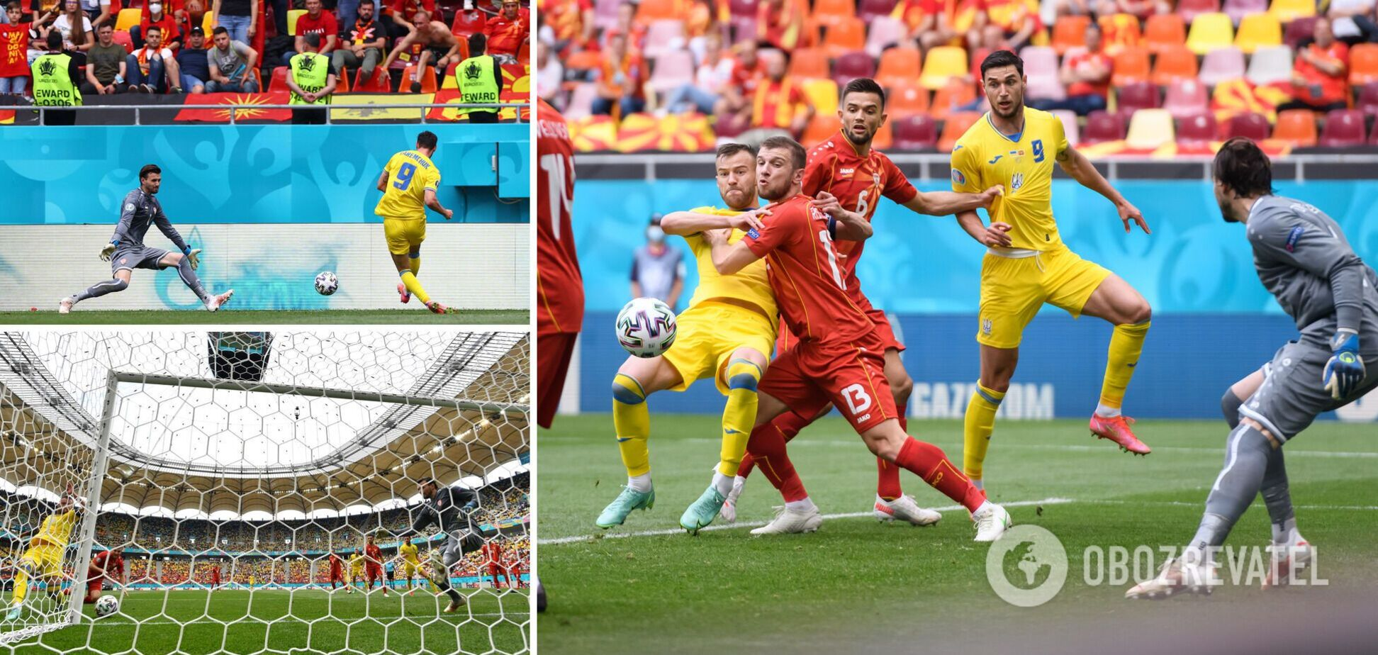 Украина Македония Результат матча