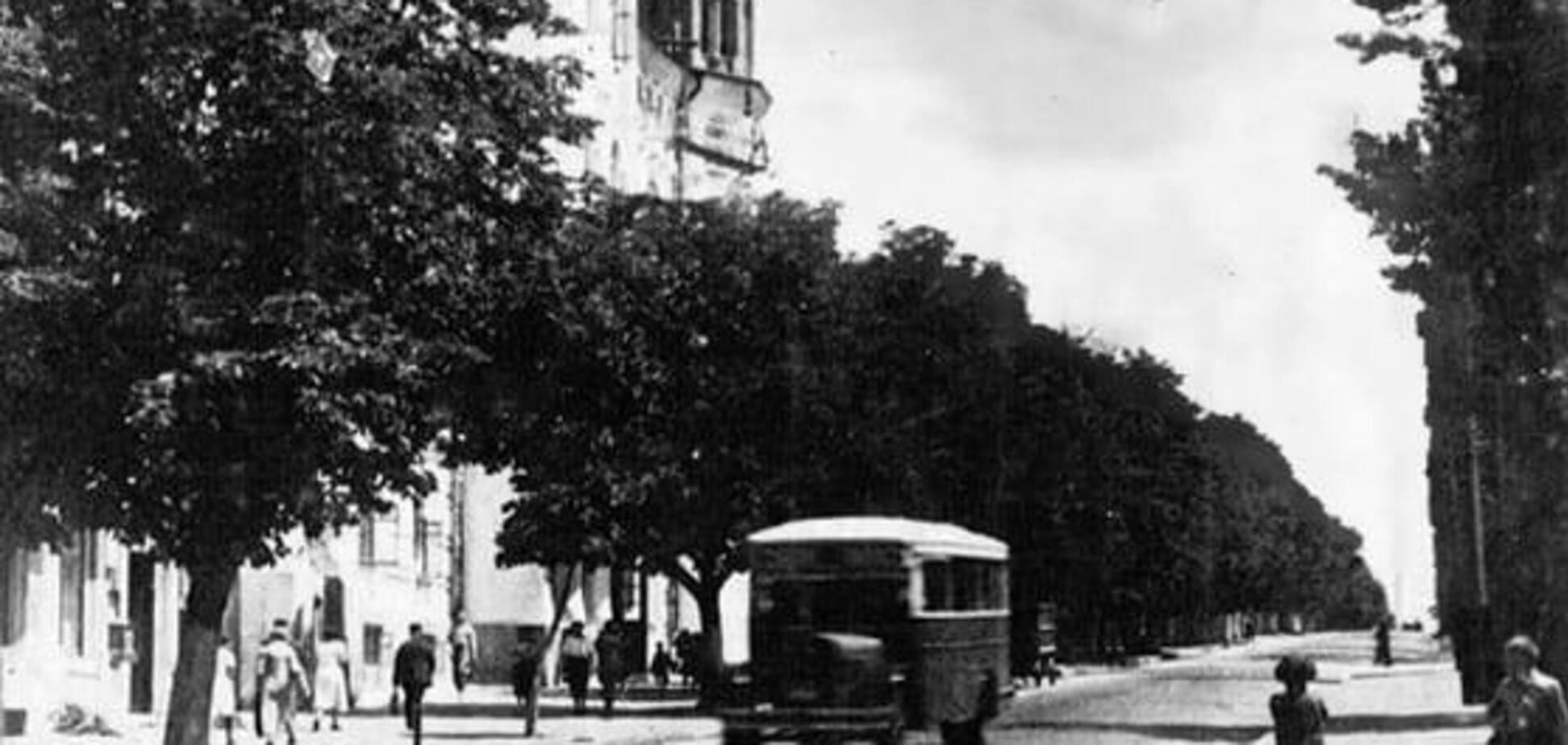 У мережі показали фото, як змінився бульвар Шевченка в Києві за 90 років