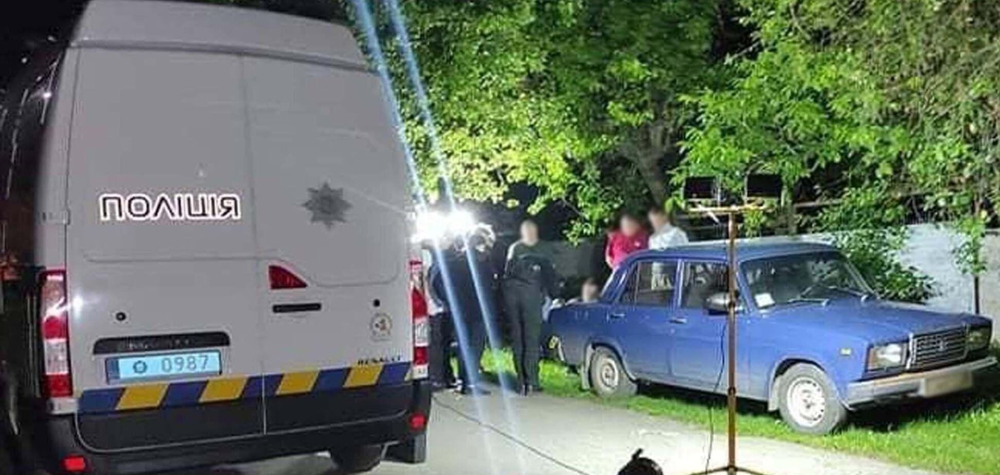 Полиция расследует убийство на Черкасщине