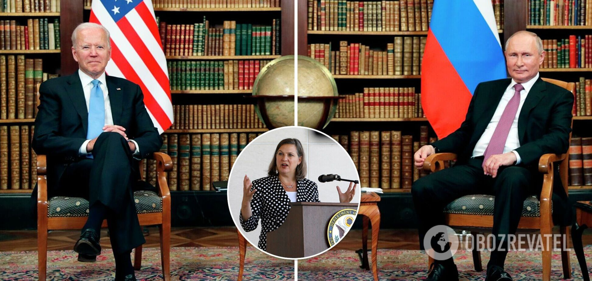 Нуланд порівняла Росію з пудингом і назвала головний меседж Байдена на переговорах у Женеві