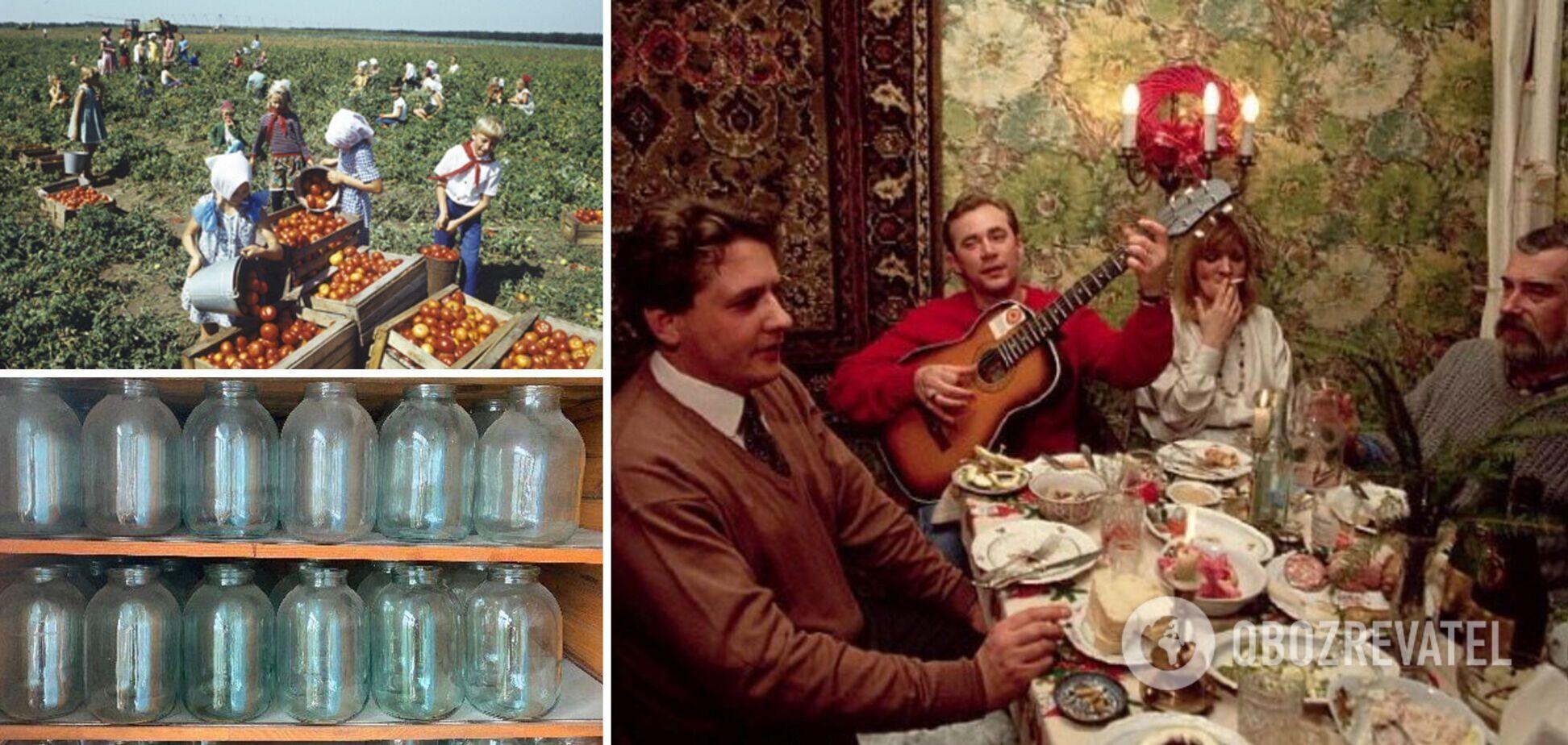 Хозяйки готовили десятки блюд на разные праздники