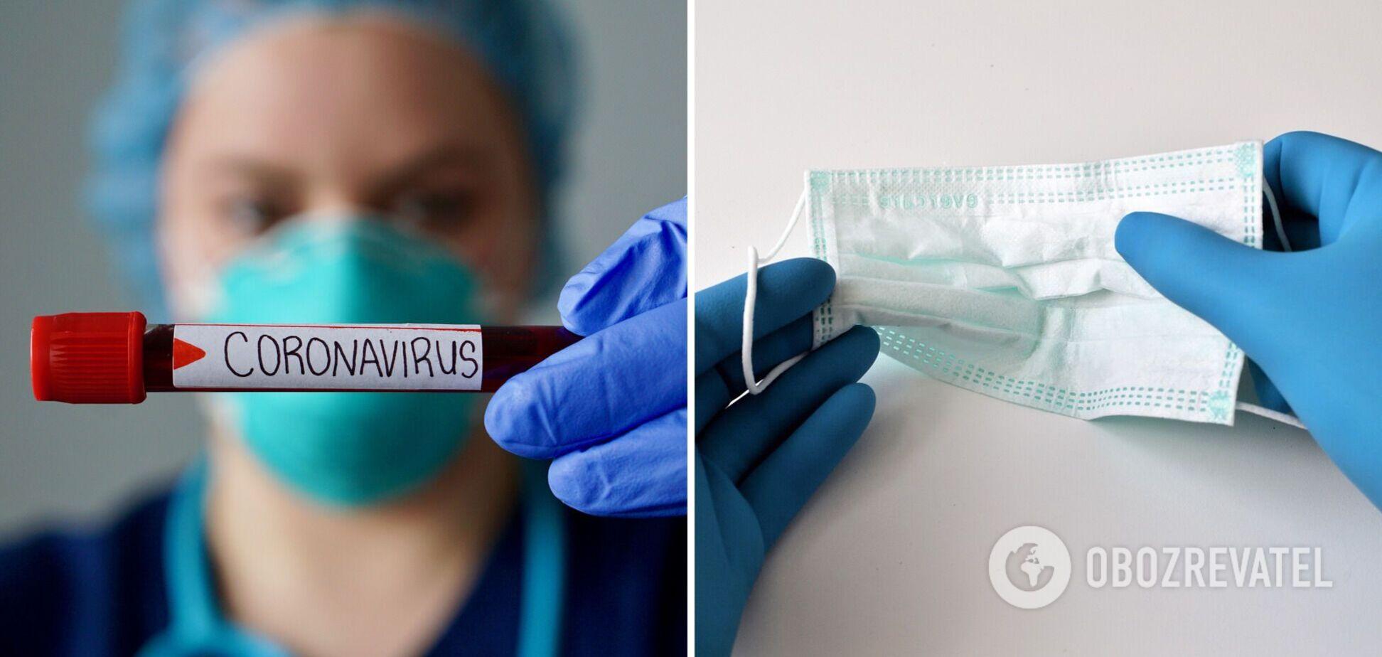 В Украине за сутки коронавирусом заразились более 850 человек, из них 23 – дети