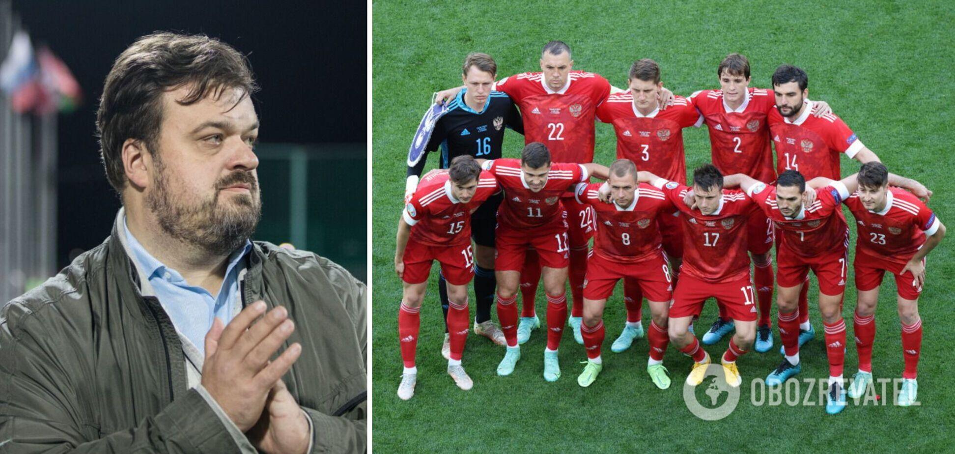 Уткин признал, что сборная Дании сильнее, чем Россия.