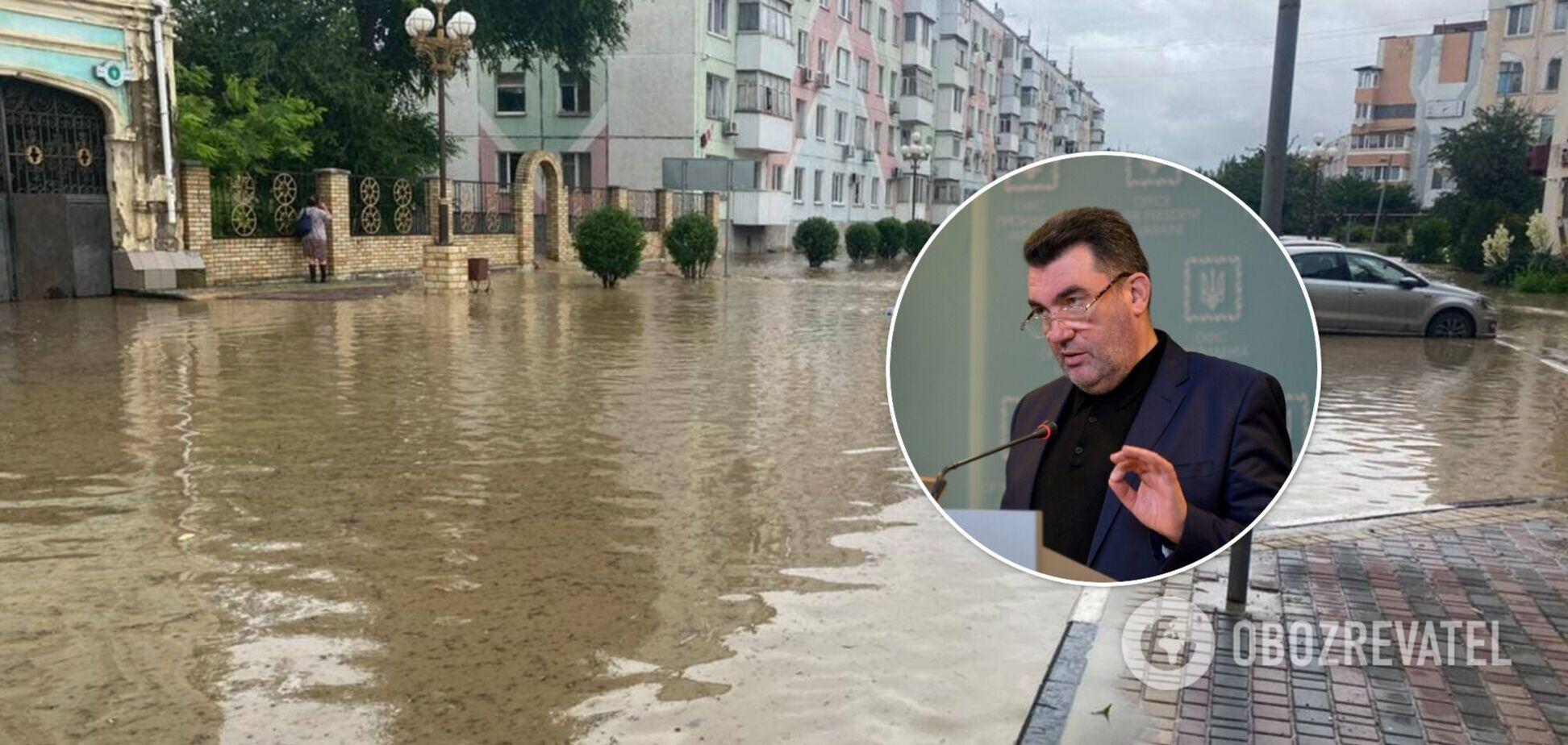 Данилов – о потопах в Крыму: просили и Господь слишком много им дал воды сразу