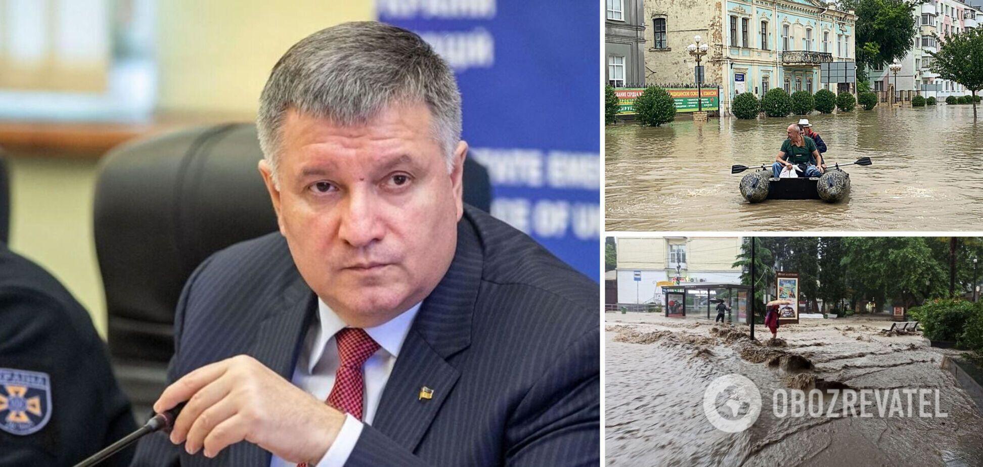 Аваков – про повінь в Ялті та Керчі: Аксьонови та інші путіноїди пройдуть, шкода нашого красеня Криму