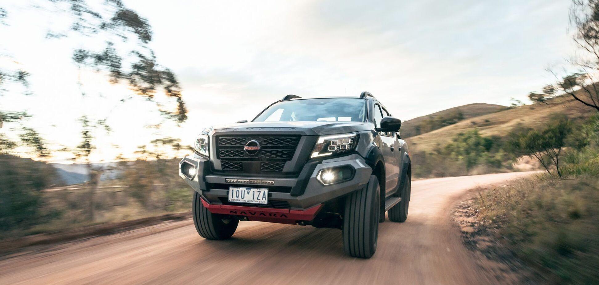Nissan показал 'прокачанную' версию пикапа Navara