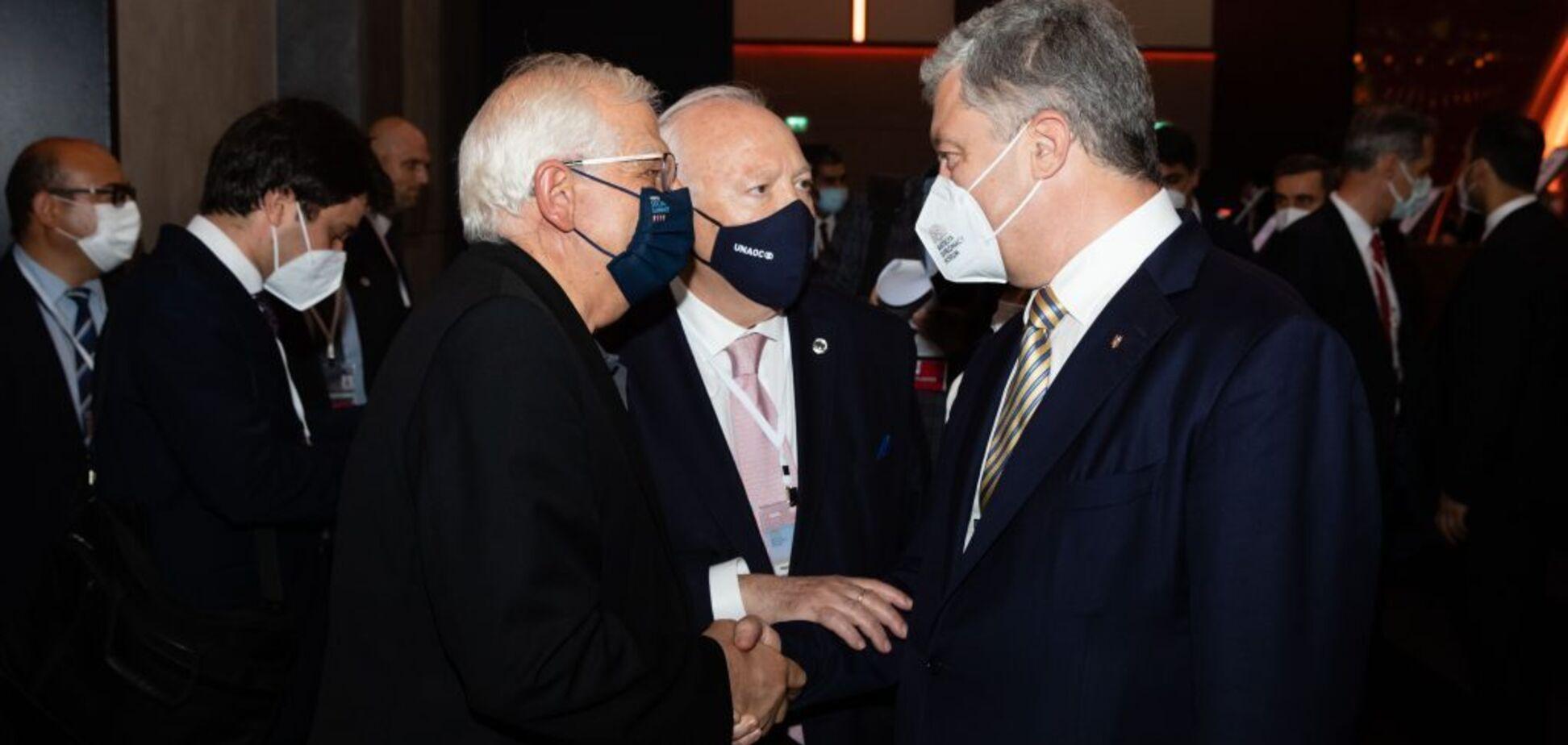 Порошенко с Боррелем обменялись мнениями относительно результатов саммита ЕС-США