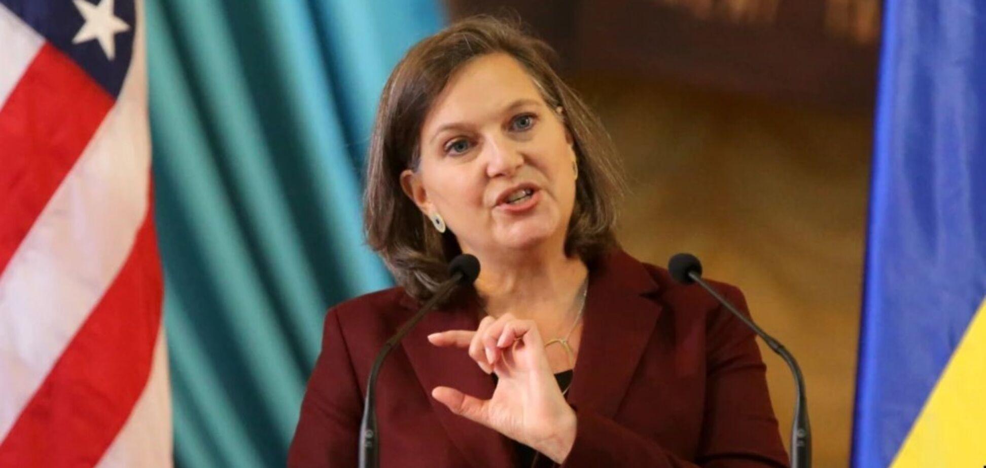 Вікторія Нуланд сказала, коли США послаблять санкції проти Росії