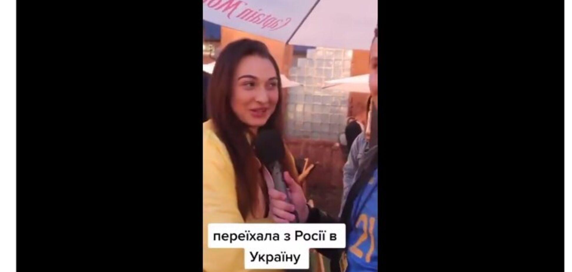 Россиянка приехала в Украину и назвала Путина 'ху*лом'