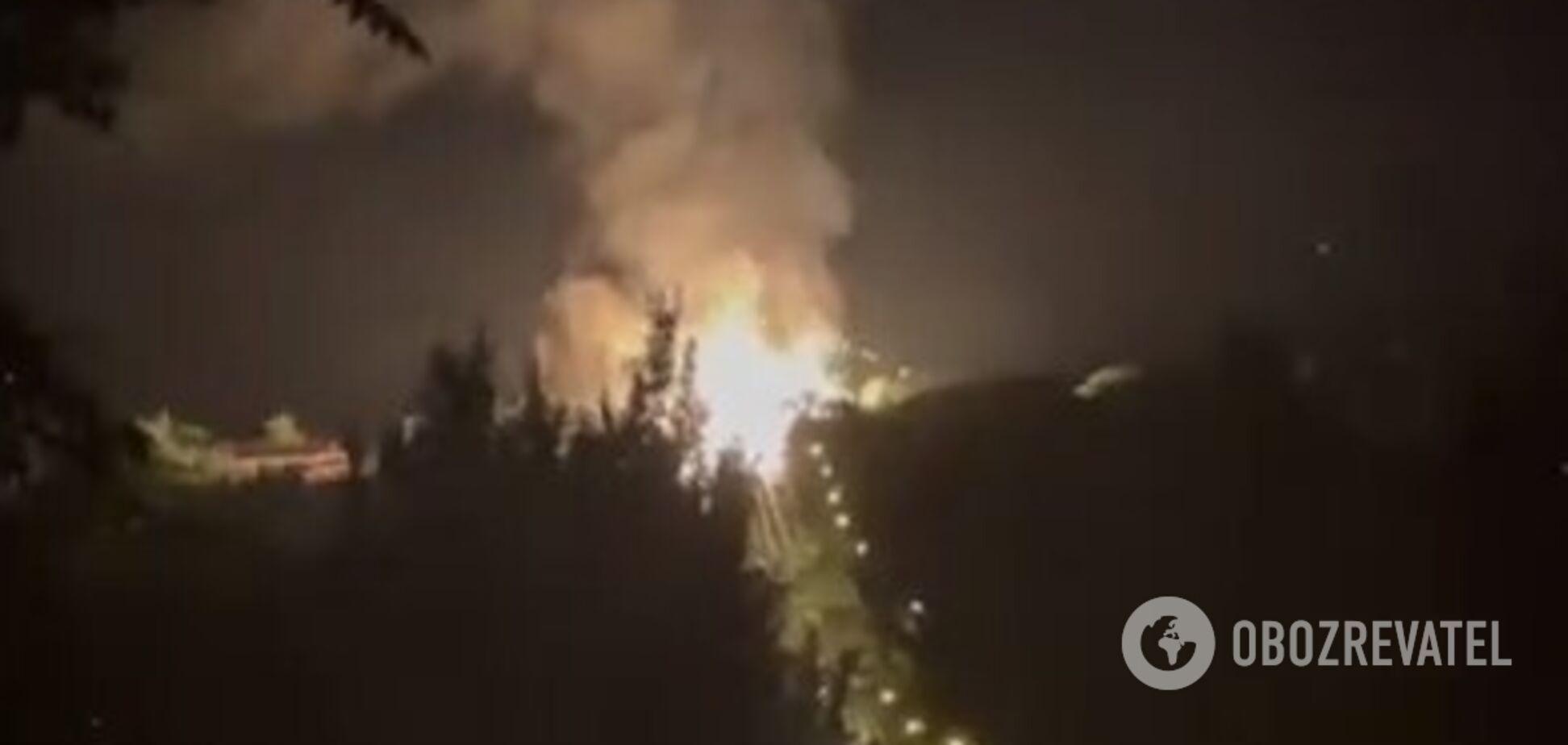В Луганске среди ночи прогремел взрыв на газопроводе