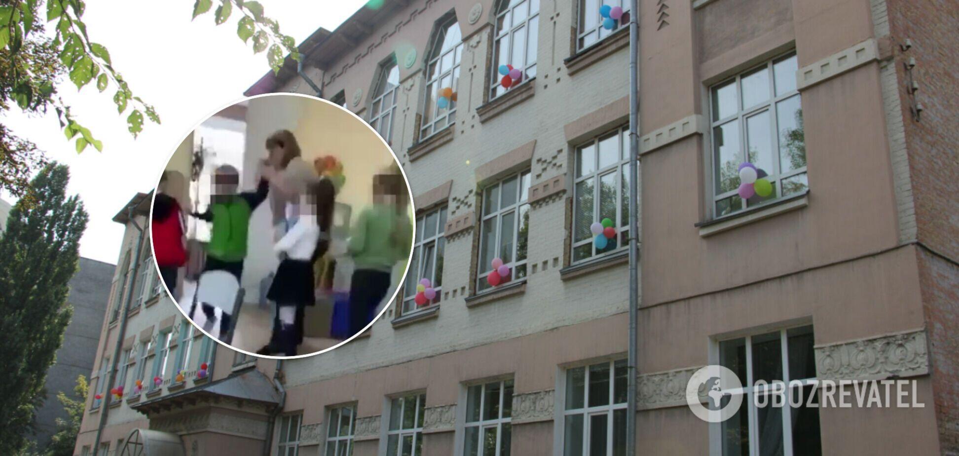 У Києві вчителька штовхала і била по обличчю дитину з інвалідністю: нардеп показав відео