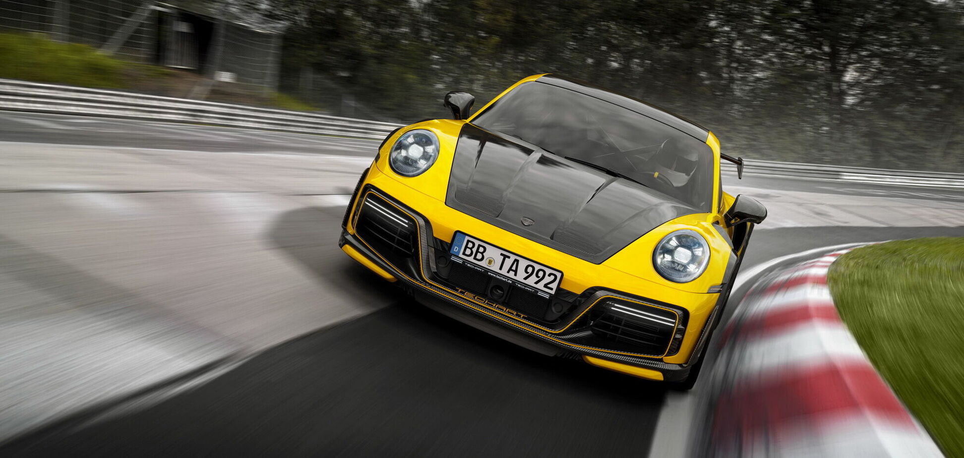 Ателье TechArt представило свое видение Porsche 911 Turbo