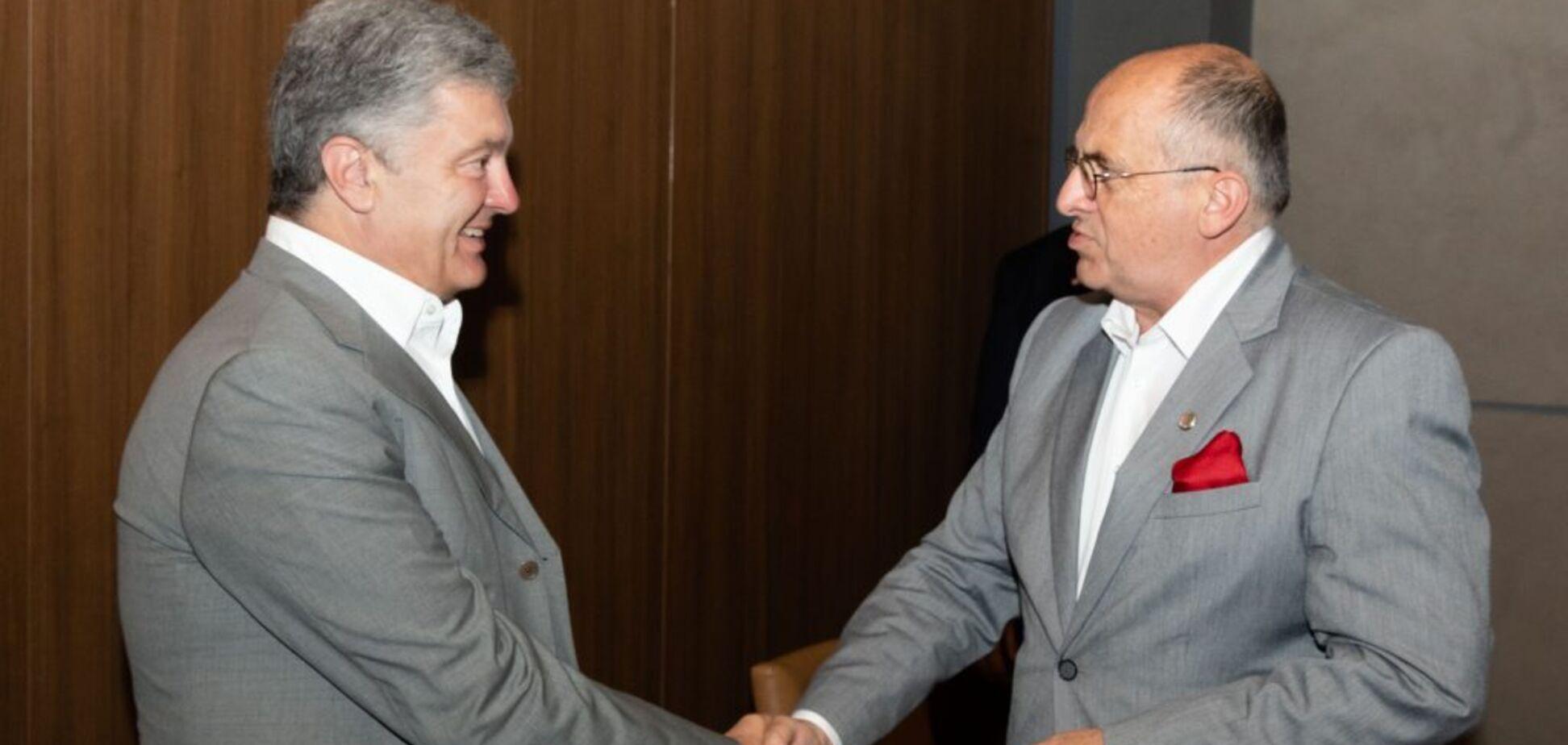 Порошенко обсудил с главой МИД Польши Северный поток-2 и деоккупацию Крыма