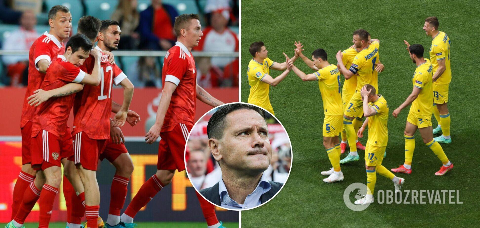 Аленичев признал, что украинские футболисты сильнее, чем российские