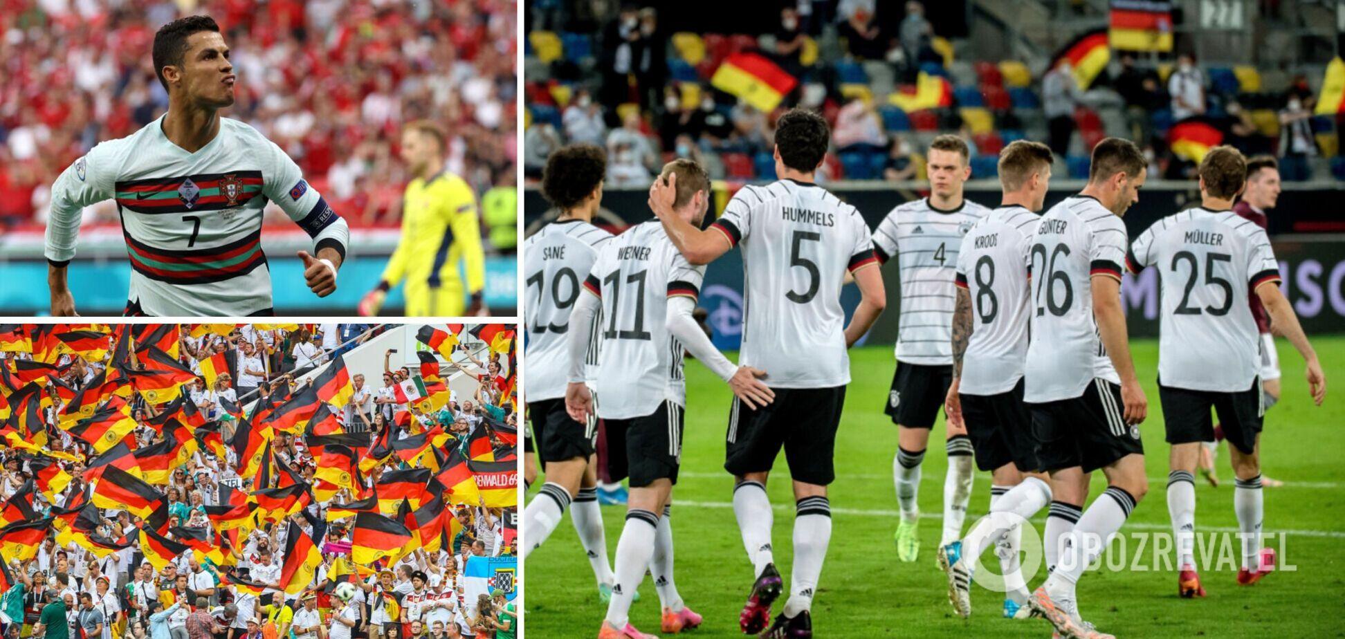 Немцам нужно победить португальцев