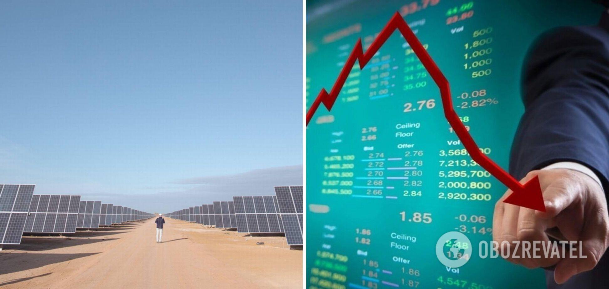 Норвежская Scatec Solar потеряла 10% стоимости из-за долгового кризиса в украинской зеленой энергетике