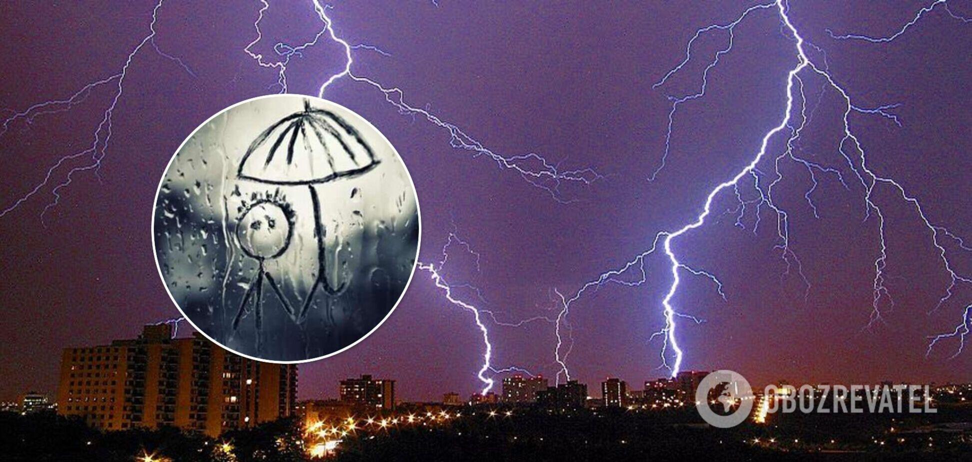 Киевщину вот-вот накроет непогода: спасатели выпустили предупреждение