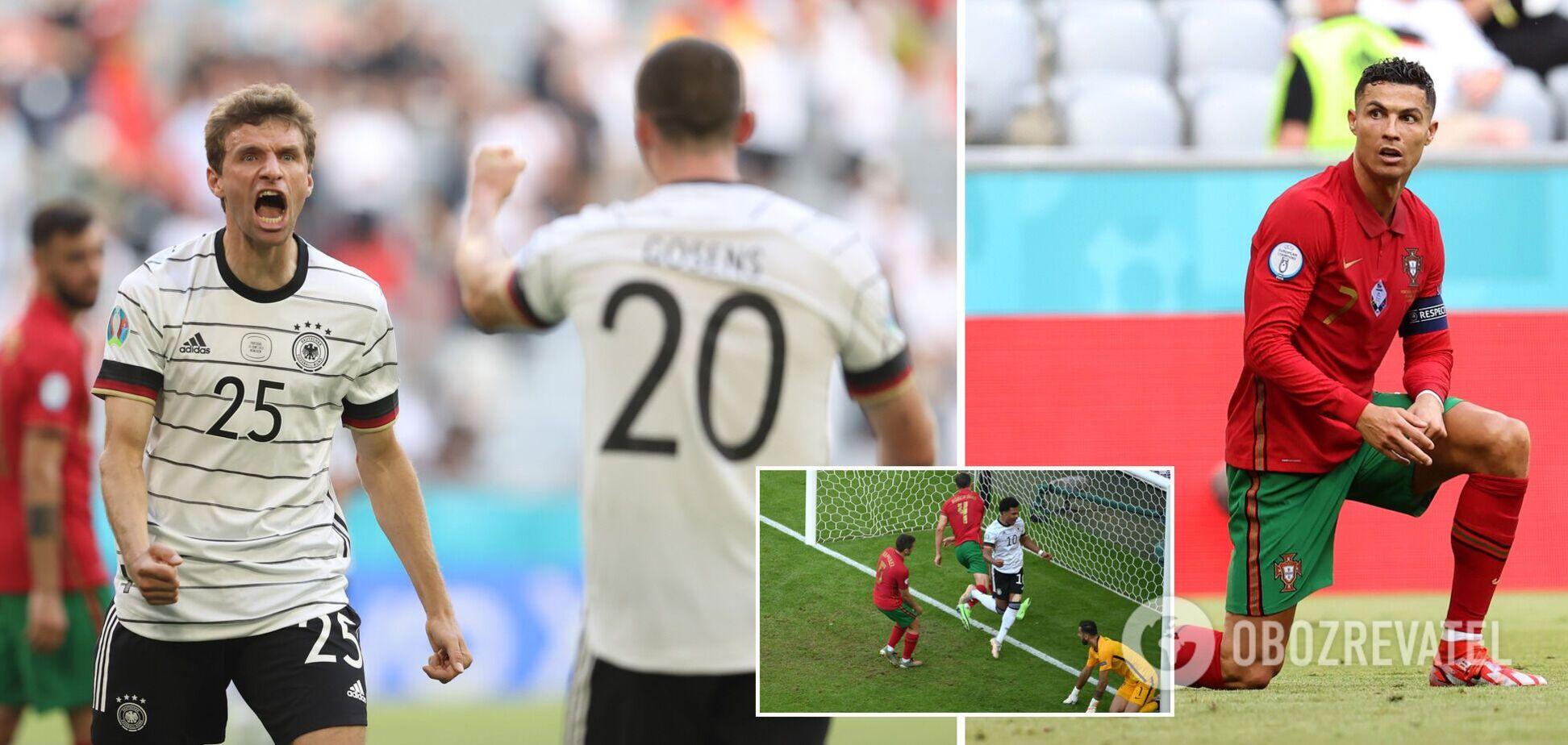 Португалия Германия