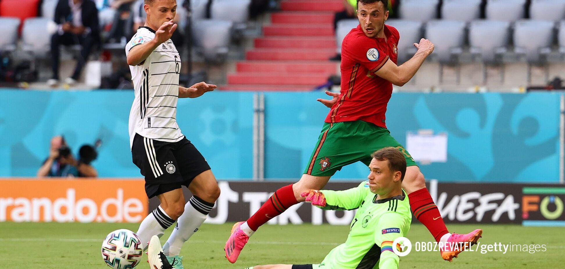 Португалия – Германия: видеообзор матча Евро-2020