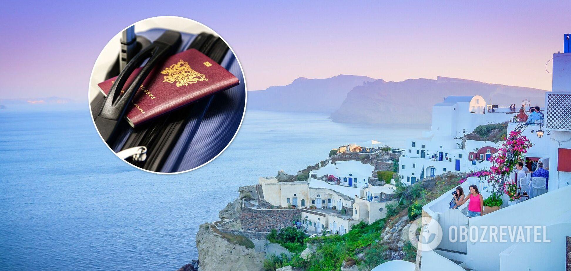 Греція в'їзд