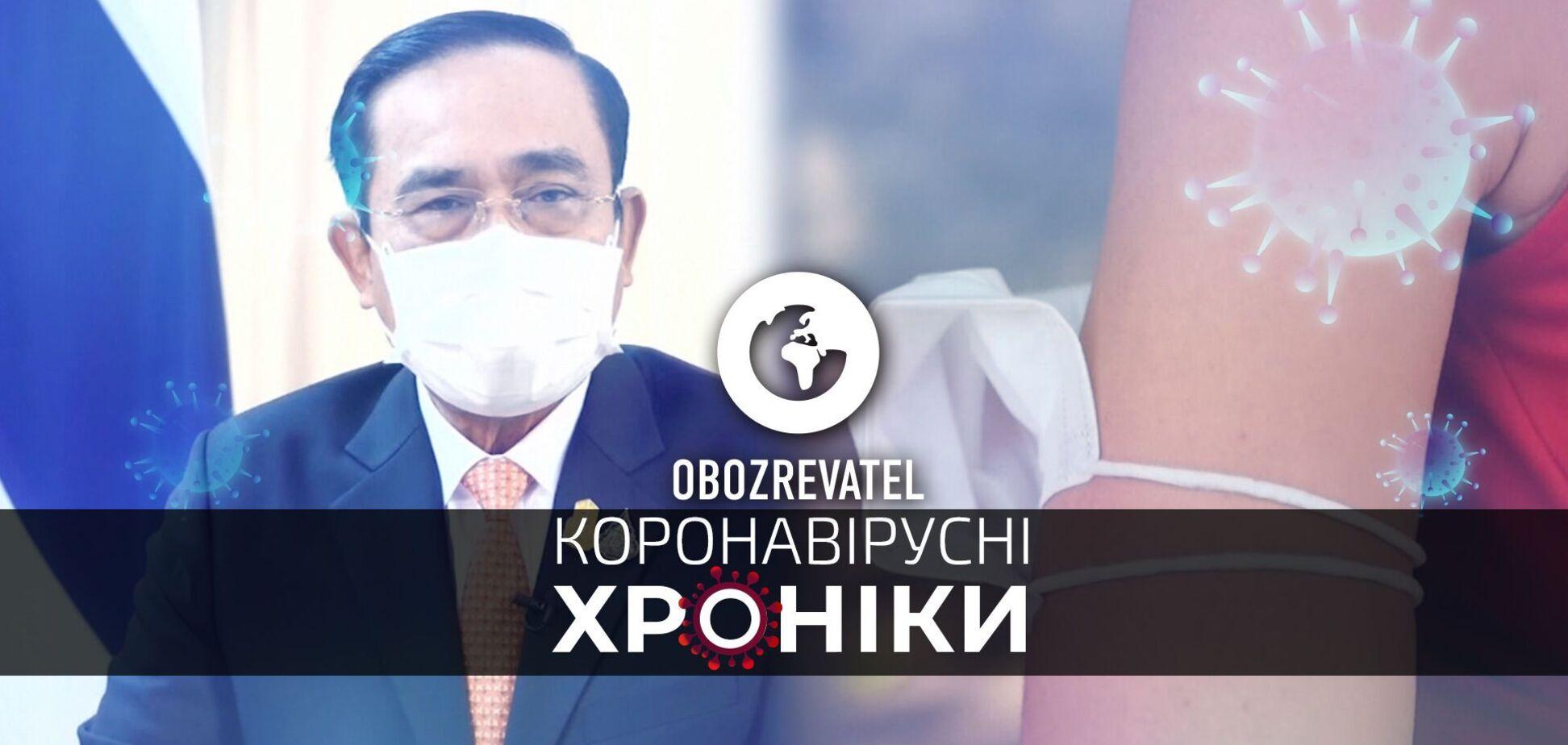 Таиланд в течении 120 дней откроется для туристов, а во Франции разрешили не носить маски на открытом воздухе – коронавирусные хроники