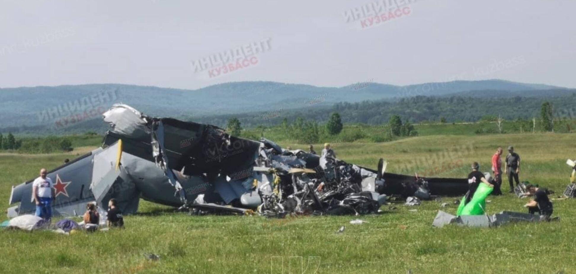 На Кузбассе упал самолет с людьми