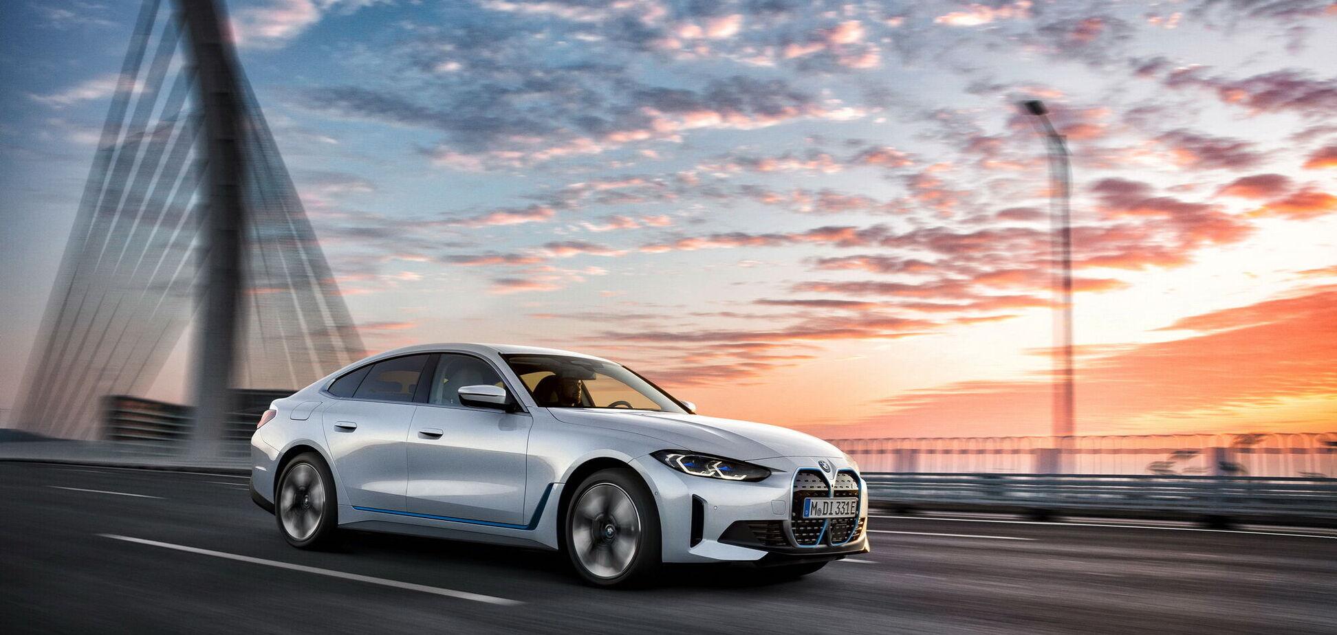 BMW розкрила всі секрети електричного ліфтбека i4