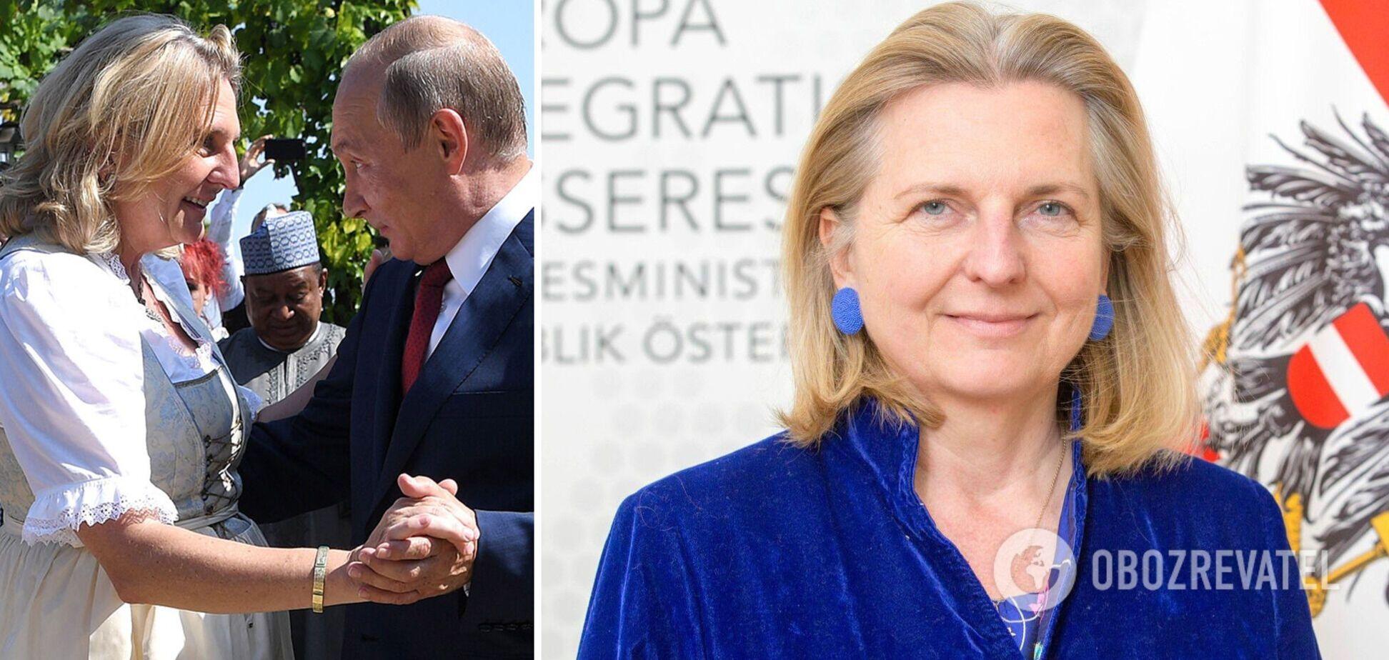 Ексглава МЗС Австрії, що танцювала з Путіним, отримала посаду в 'Роснафті'