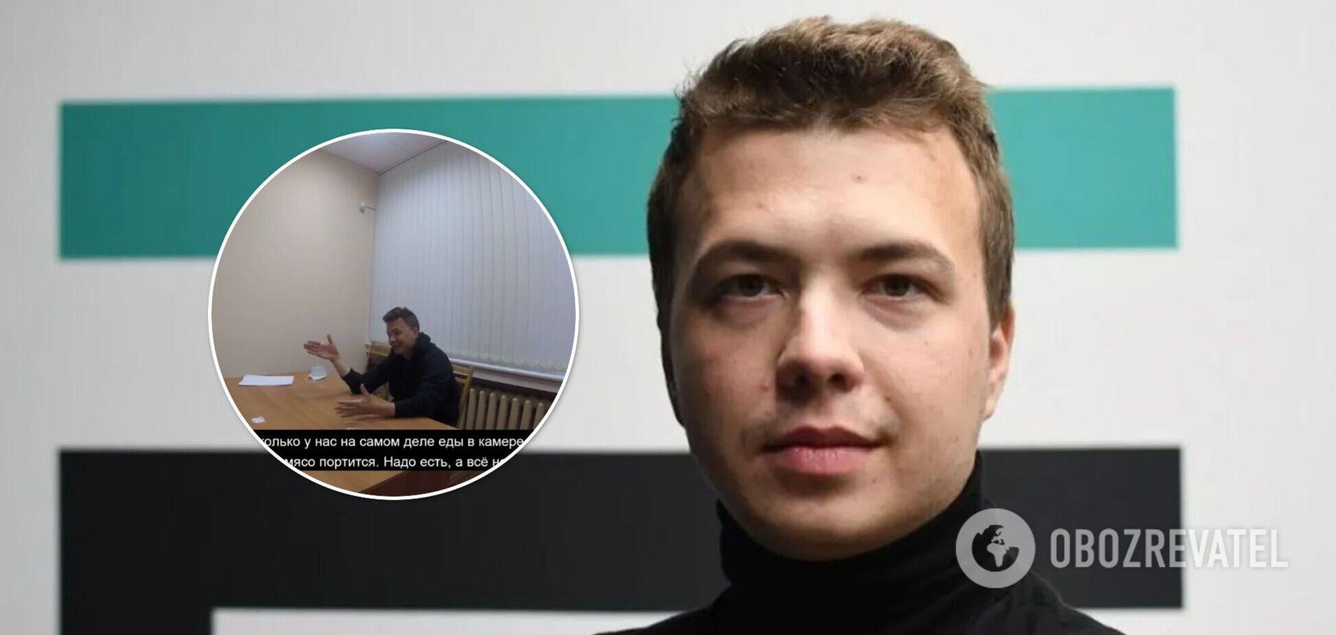 З'явилися нові кадри допиту Протасевича, де він розповів про СІЗО