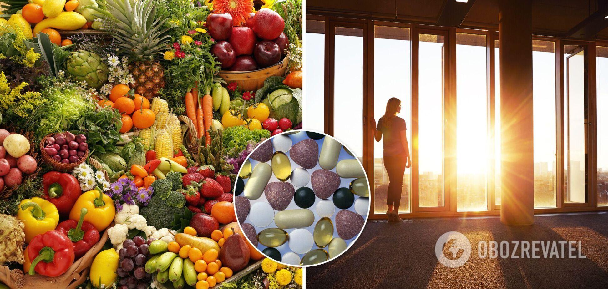 Організм людини потребує вітамінів навіть влітку