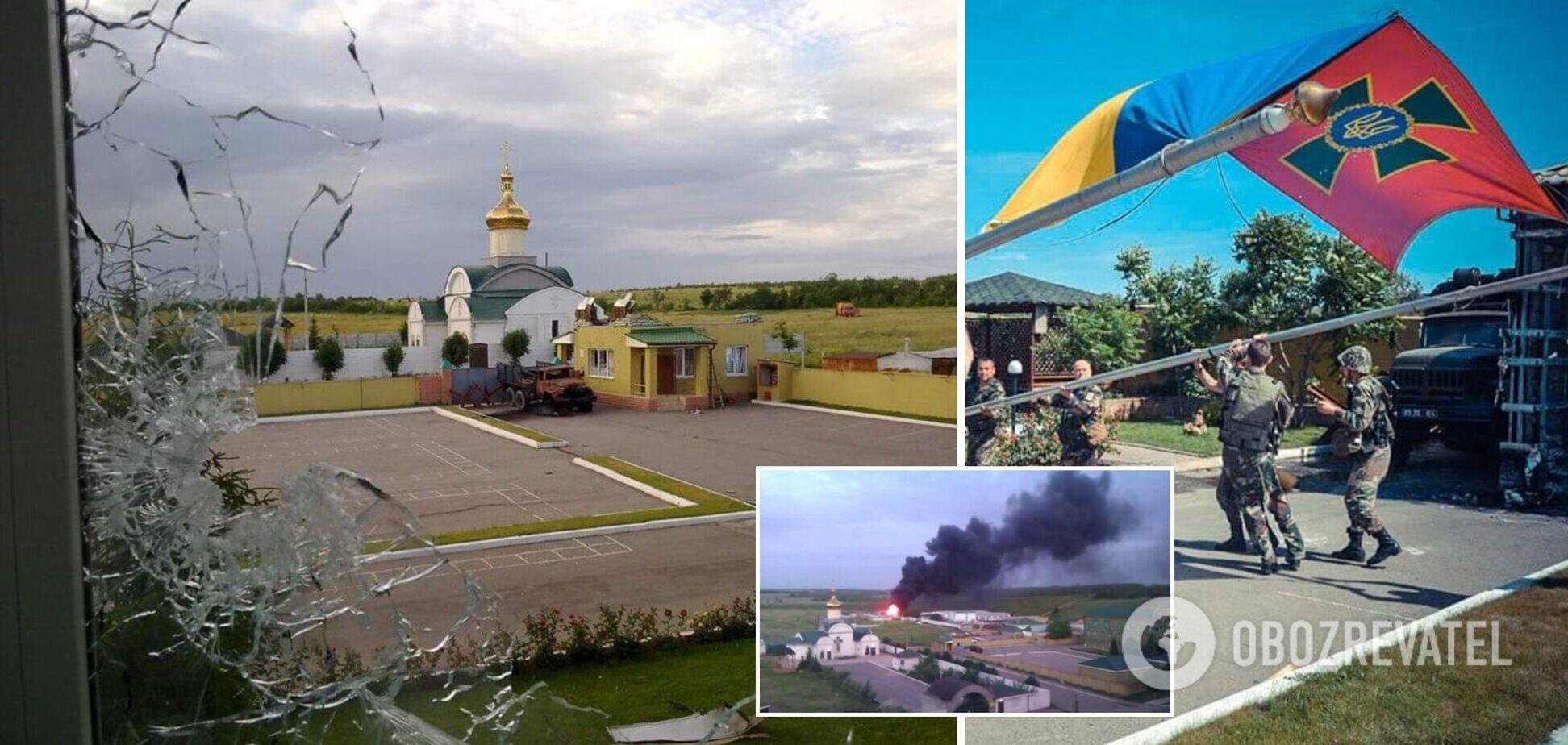 7 лет назад террористы штурмовали Луганский погранотряд: украинцы вели бой под гимн. Видео