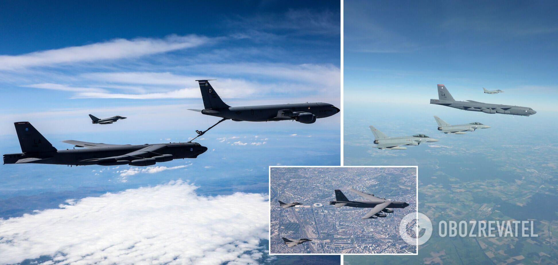В НАТО отправили 'послание Путину' масштабными маневрами в небе над Европой. Видео