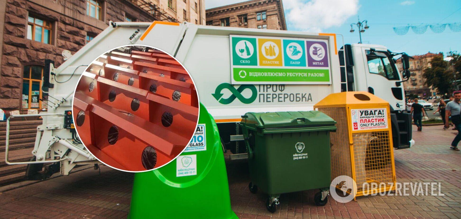 Зібране сміття відправлять на переробку