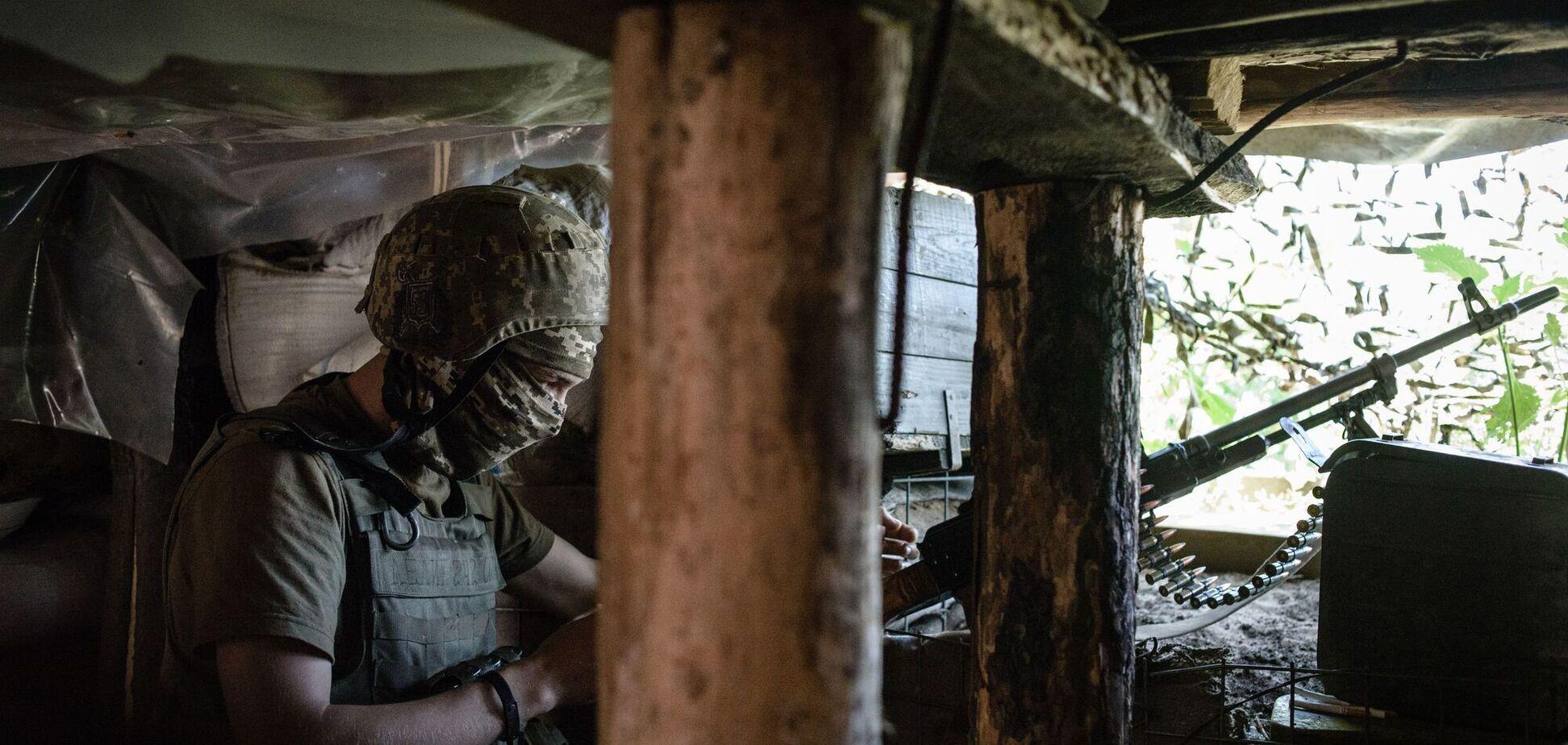 Терористи 'Л/ДНР' обстріляли позиції ЗСУ з мінометів і гранатометів – штаб ООС