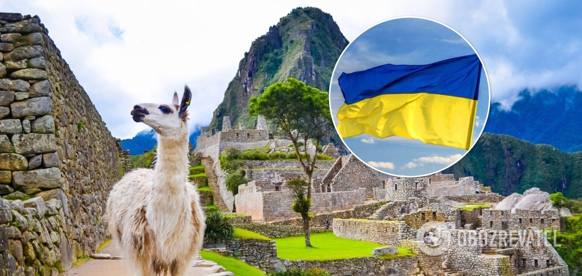 Украина расширит безвизовый режим с Перу