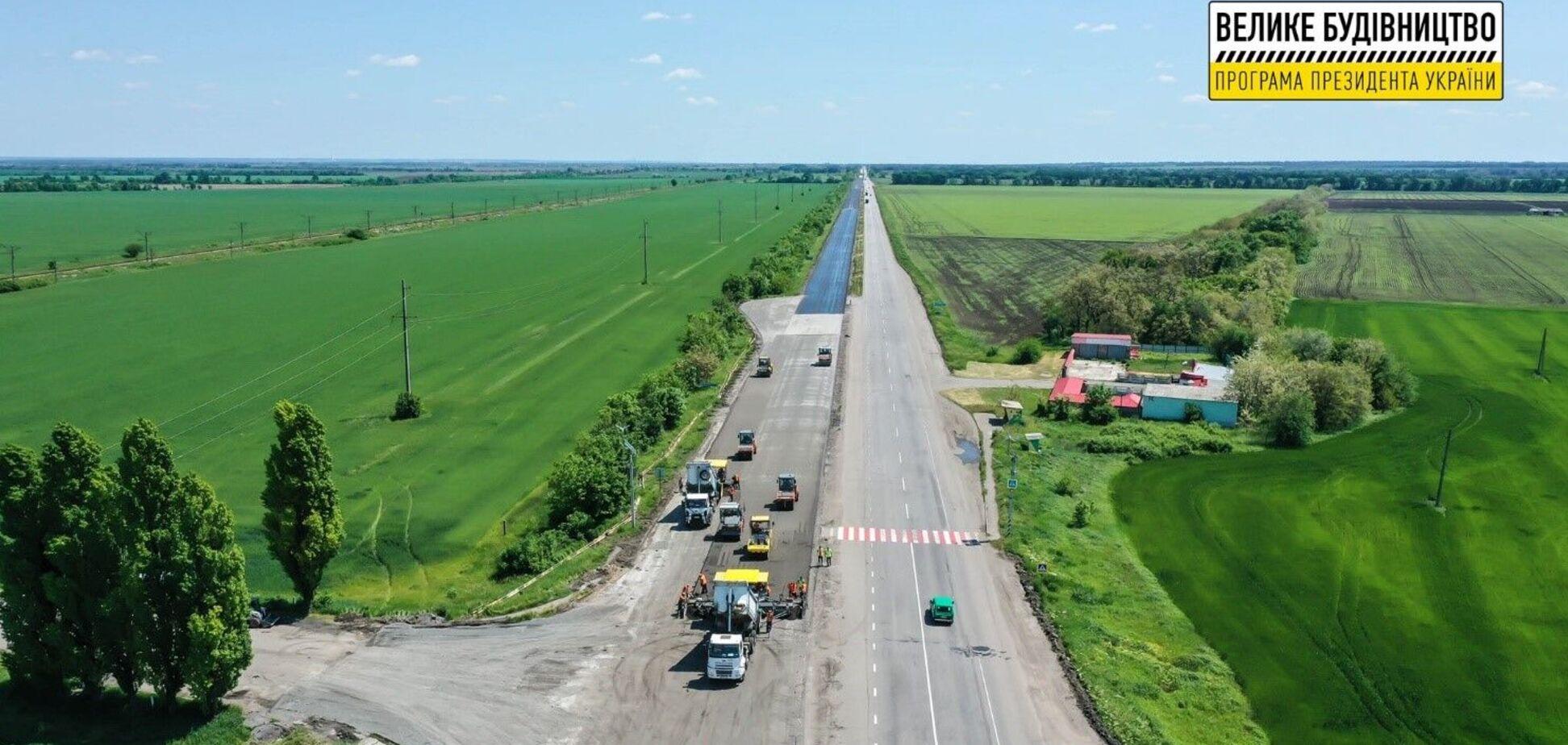 В сети показали ремонт трассы М-04 Знаменка - Луганск - Изварино
