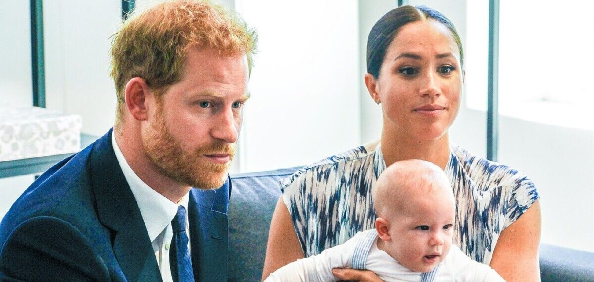 Син Меган Маркл і принца Гаррі не отримає титул принца – ЗМІ