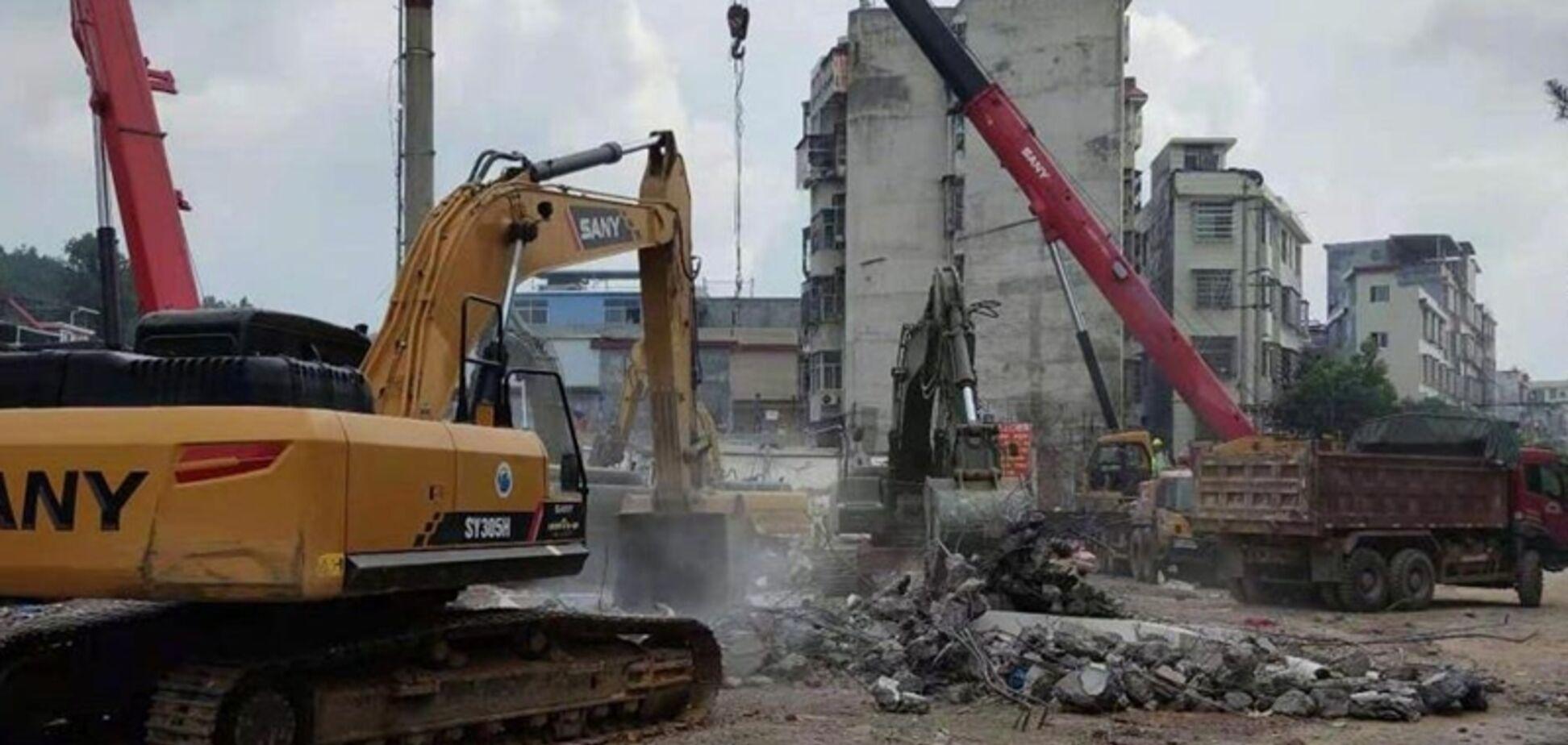 У Китаї обвалився житловий будинок: загинули п'ятеро людей. Фото