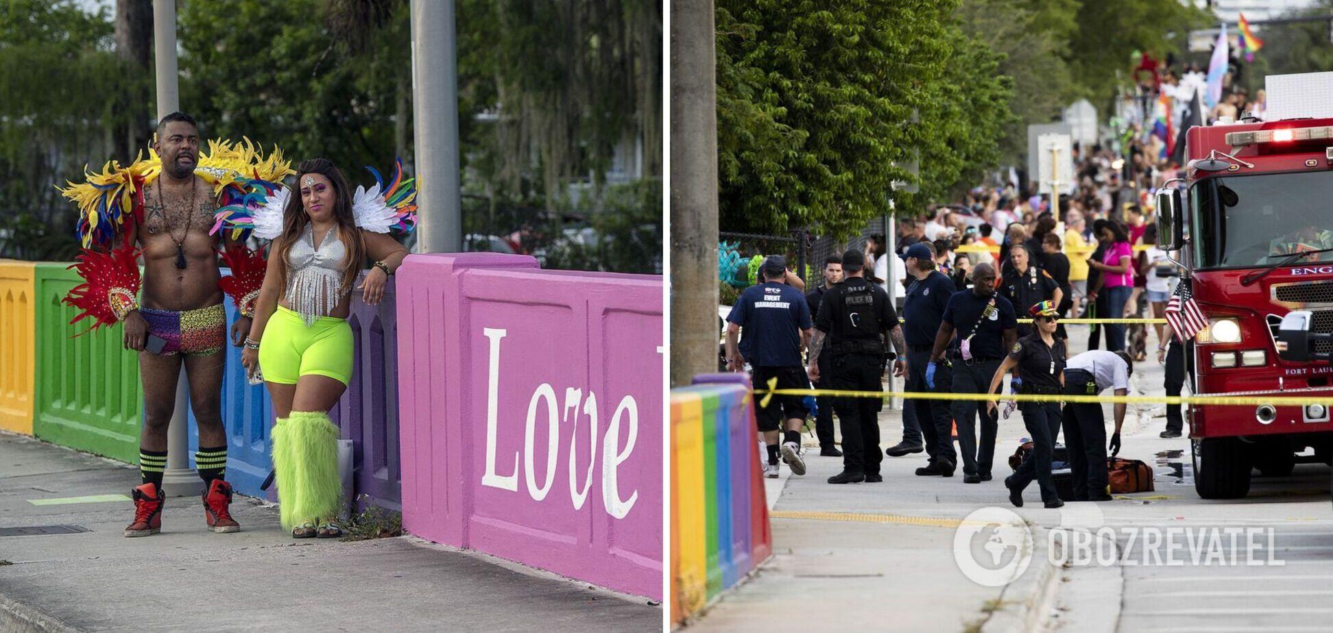 У США авто протаранило людей на гей-параді: є загиблий. Фото і відео