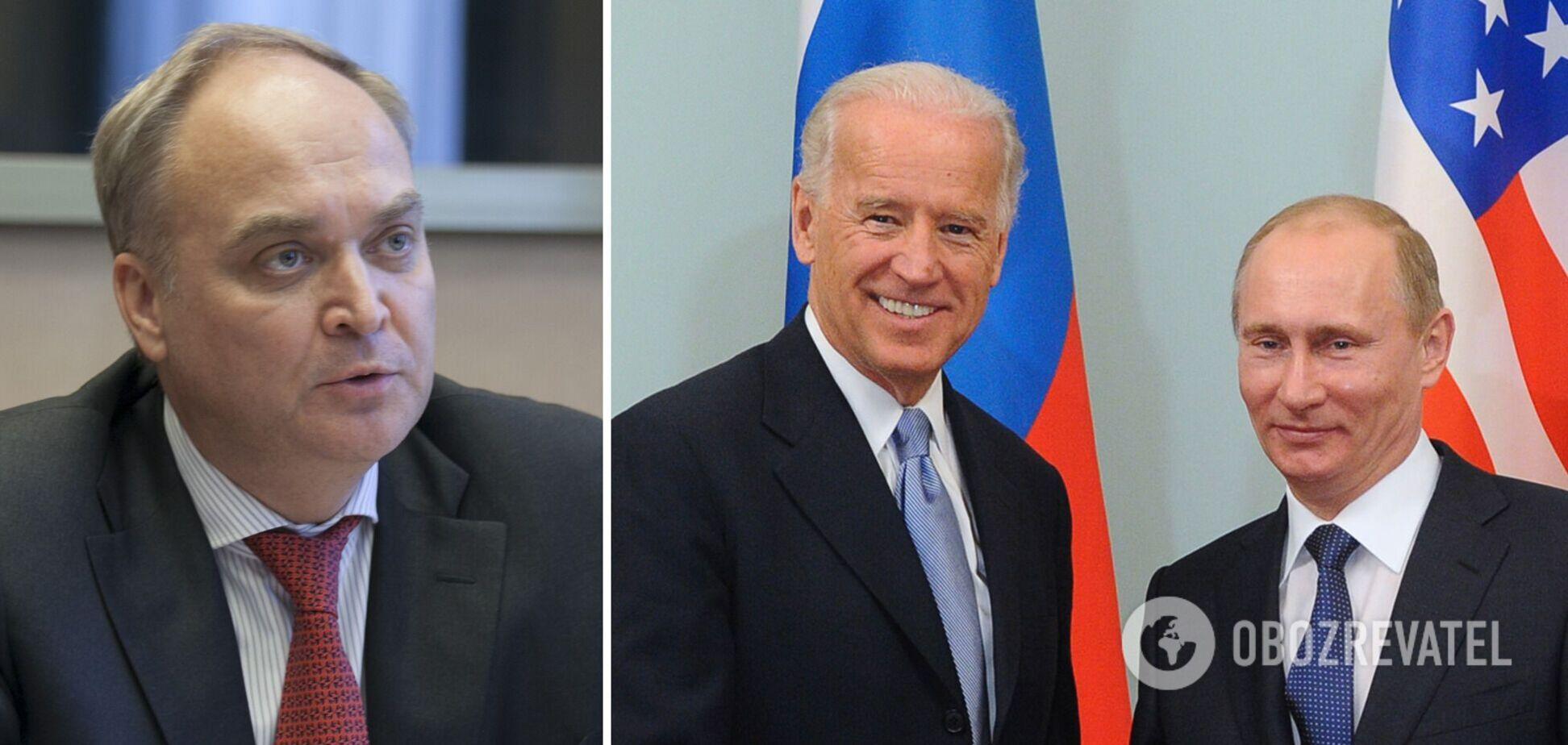 Россия решила вернуть в США посла, которого отозвала после заявления об убийце Путине