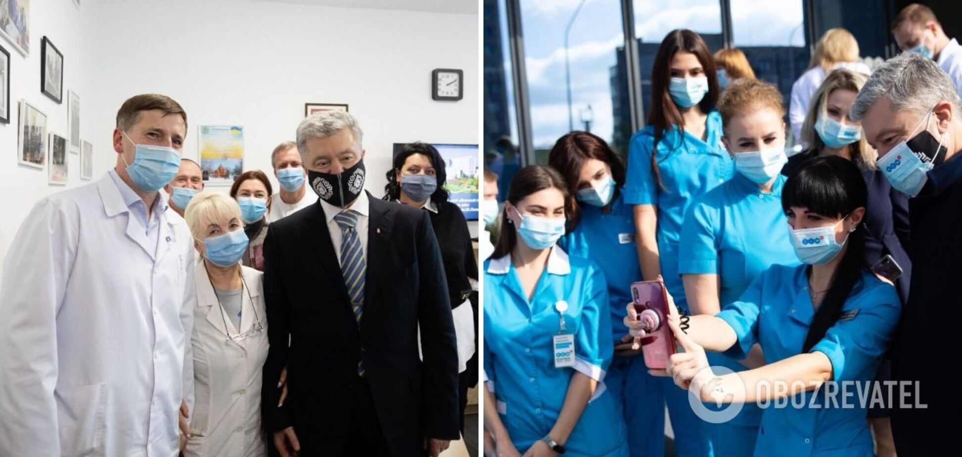 Порошенко – українським медикам: ви проявили себе як справжні герої