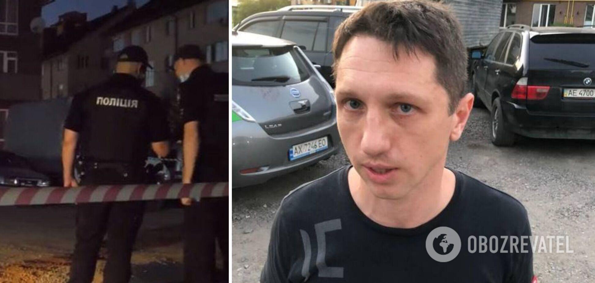 Помощник 'слуги' Куницкого стрелял на парковке в Харькове