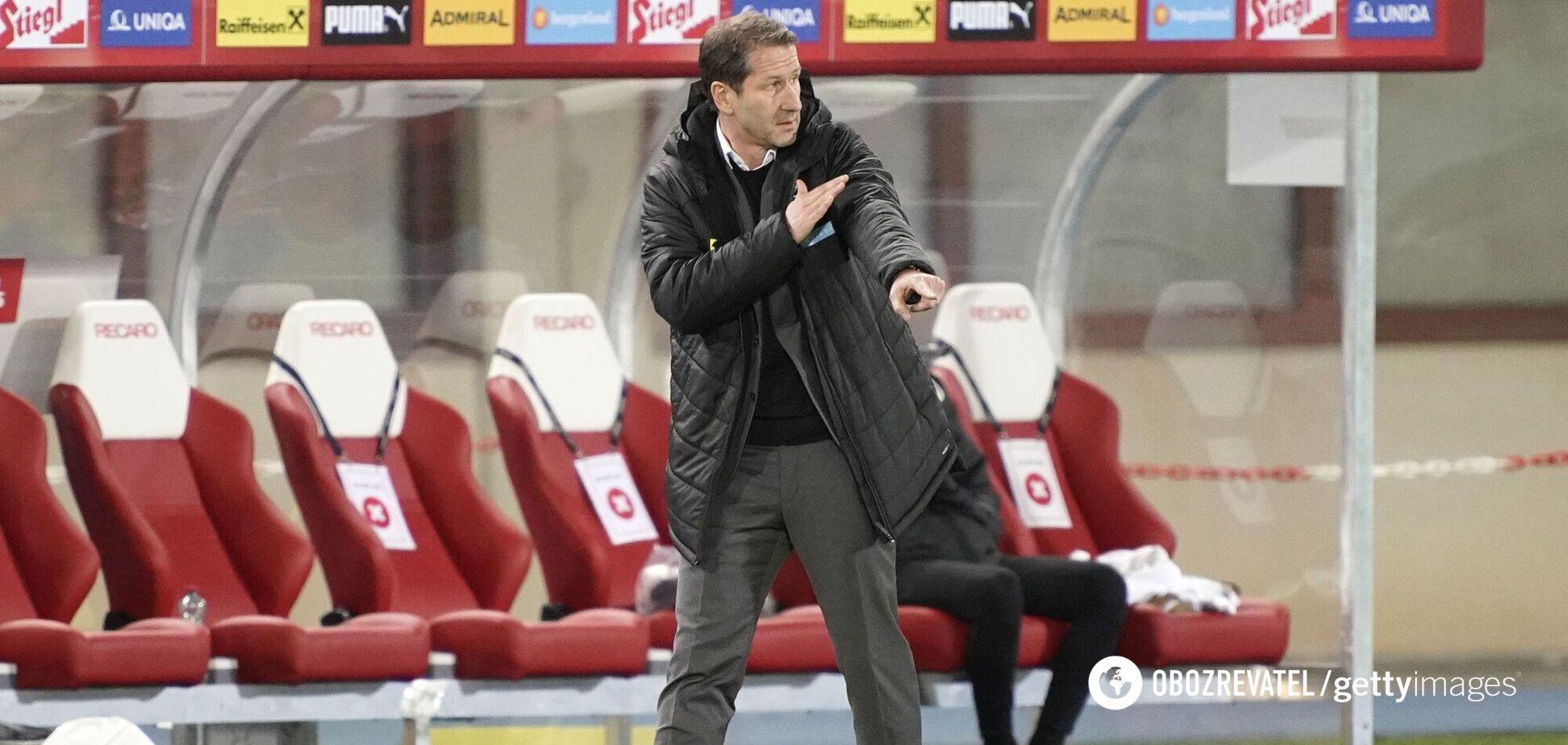 Тренер сборной Австрии: мы нашли слабости украинцев и будем их использовть